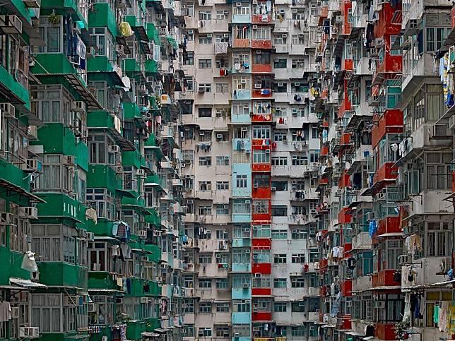 《Architecture of Density》(2003年-2014年)是Michael Wolf最廣為人知的作品。  Photomichaelwolf.com圖