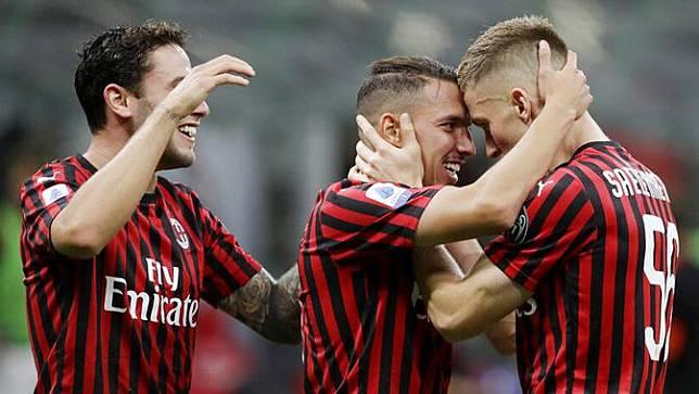 Pasca-Restart, AC Milan Jadi Klub Paling Produktif di Serie A