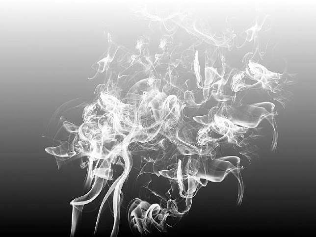 ilustrasi asap
