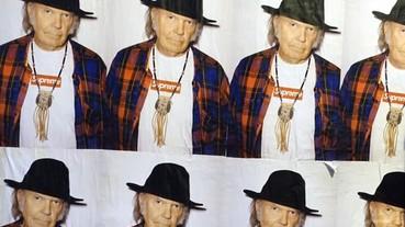 Supreme 新海報滿街貼,主角竟是傳奇人物 Neil Young