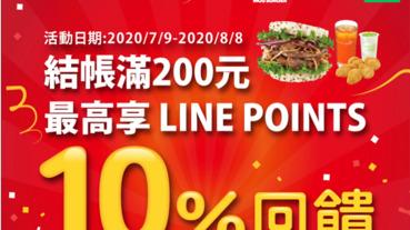 歡慶摩斯漢堡上線 LINE Pay付款享10%