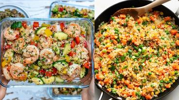 不放一粒米的升級版雙花椰菜炒飯!高蛋白+低碳水 吃到飽也不會有罪惡感