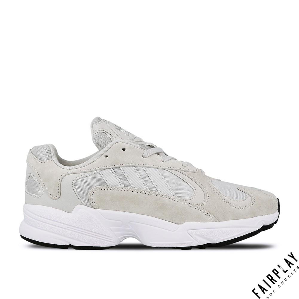 Adidas Originals Yung-1 灰 男鞋 低筒 輕量 運動鞋 慢跑鞋 老爹鞋 BD7659
