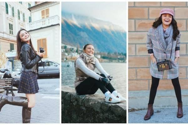 10 Inspirasi OOTD Liburan ke Luar Negeri ala Amanda Rawles, Mempesona!