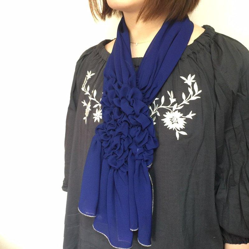 一條圍巾,任何人都可以享受的圍巾。
