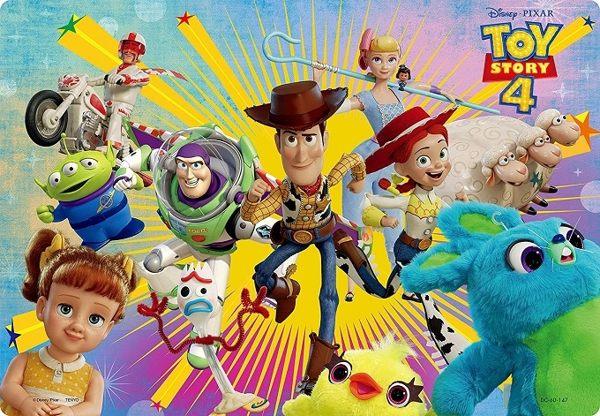 【拼圖總動員 PUZZLE STORY】玩具總動員4 出發 日系/Tenyo/迪士尼/兒童/60P/紙板