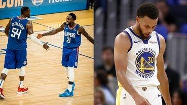 NBA 速報 / 開幕戰直接被慘虐!快艇痛宰勇士 19 分豪奪本季 2 連勝,Curry 外線 11 投 2 中整場被守爆!
