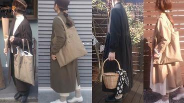 誰說矮女生不能走日系文青風~日本155cm女生簡約穿搭風,喜愛長裙多層次穿搭的你一定要FOLLOW她啦!