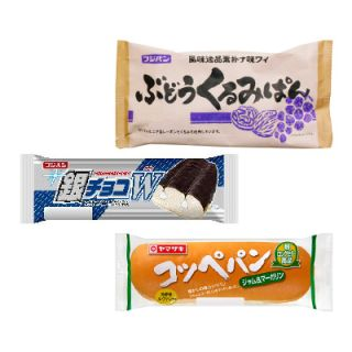 銀チョコW/ぶどうくるみぱん/コッペパン各種