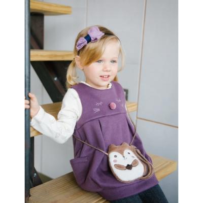 兩件式洋裝搭配出不同風格 貓咪圖案上衣與背心裙可愛滿分 可愛松鼠造型包包超值選擇 百貨專櫃義大利品牌童裝