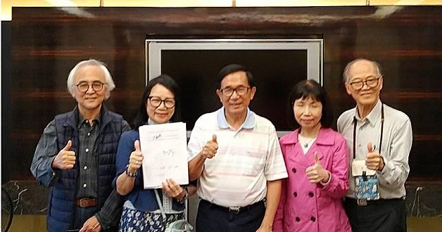 接受一邊一國黨提名不分區 前總統陳水扁出戰立法院