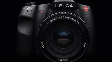 Leica新款中片幅數位單眼S3上市,6400萬像素還支援4K錄影