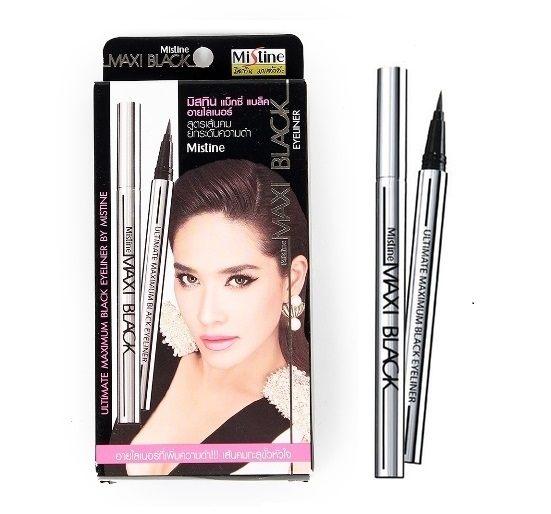 【現貨】泰國 Mistine MAXI Black 全效防水眼線筆 黑色 保證正品