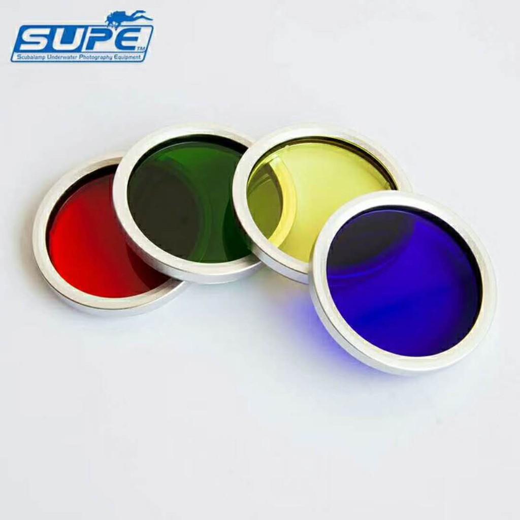 SUPE RD90專用彩色濾鏡 潛水手電筒配件