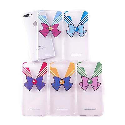 美少女戰士 iPhone 6s/7/8 Plus共用 雙料保護殼套_蝴蝶結