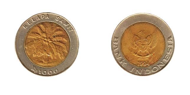Uang pecahan seribu rupiah (Shutetrstock.com)
