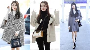 Lisa復古文青、IU書卷知性、朴敏英率性幹練…韓國女星機場穿搭身上揹的手袋是這些