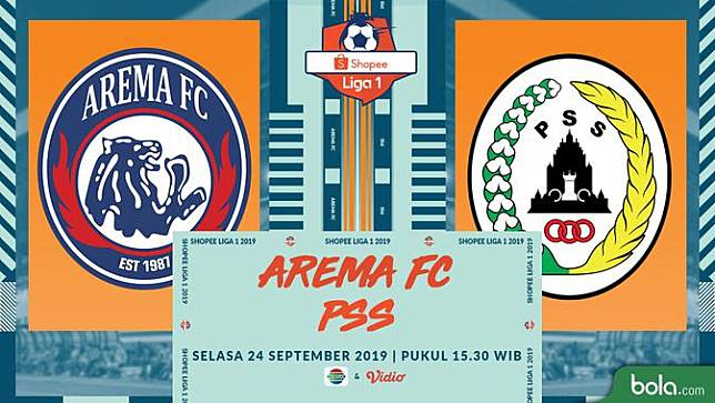 Arema FC Vs PSS Sleman