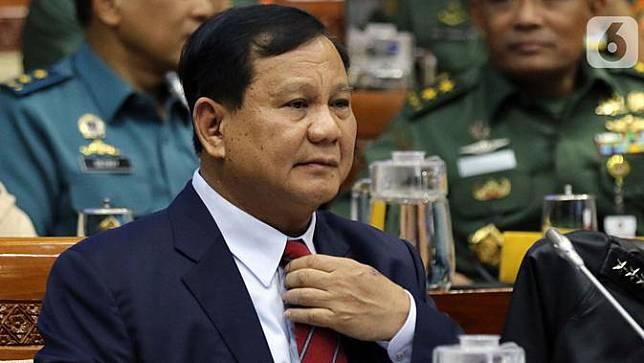 Prabowo Rapat Perdana DPR