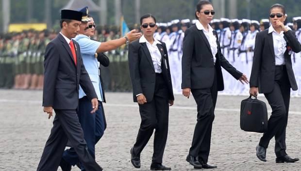 Paspampres bersama Bapak Presiden Joko Widodo