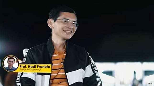 Hadi Pranoto (Screenshot YouTube dunia MANJI)