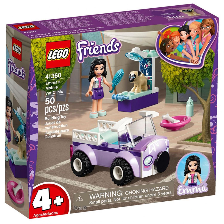 樂高 LEGO - 樂高 Friends 姊妹淘系列 - 艾瑪的動物醫療車 41360-50pcs