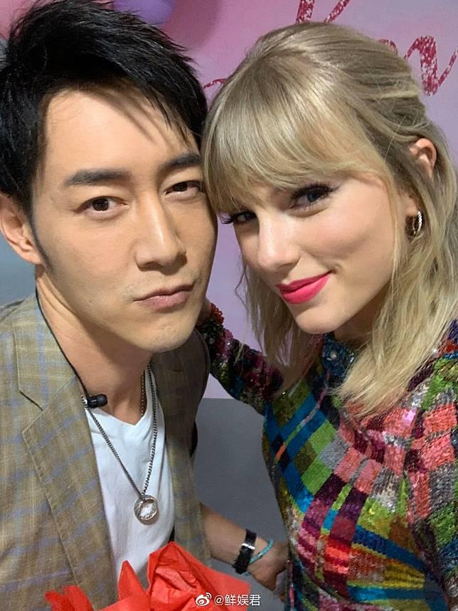 Taylor Swift、陳正飛