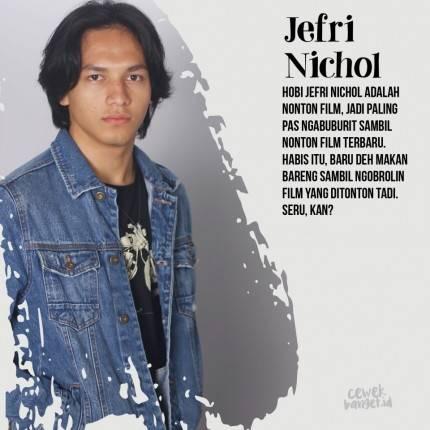 Jefri Nichol Gondrong Artis Viral