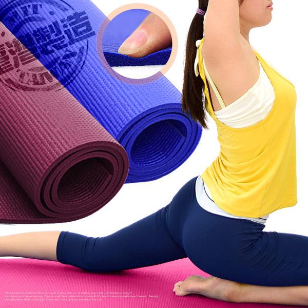 台灣製造PVC運動墊遊戲墊6MM瑜珈墊.止滑墊防滑墊.寶寶爬行墊軟墊睡墊野餐墊地墊子