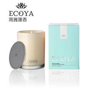 Ecoya 天然環保香氛蠟燭 高雅蓮香 (400g)