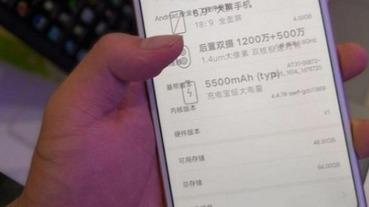 超大螢幕、行動電源級大電量小米Max 3即將發表,網友搶先曝光實機上手照