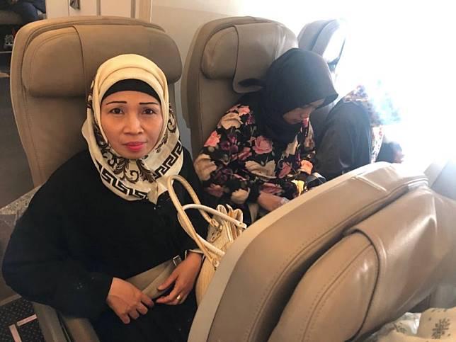 Turini kembali ke Tanah Air, setelah 21 tahun menghilang di Arab Saudi dan putus komunikasi dengan keluarga. Foto: Dok.KBRI Riyadh.