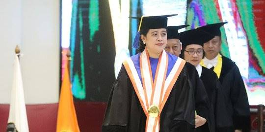 Puan Maharani Dapat Gelar Doktor Honoris Causa dari Undip