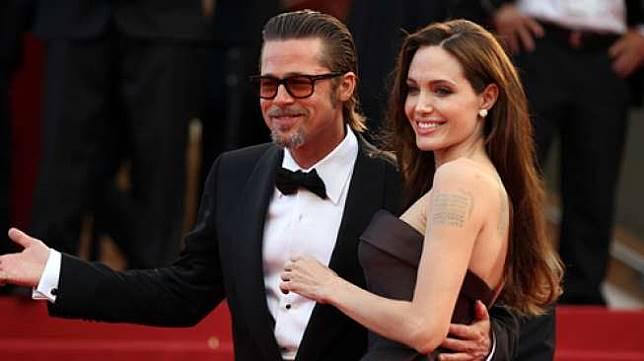 Angelina Jolie dan Brad Pitt hadir di acara Cannes Film Festival pada 16 Mei 2011. [shutterstock]