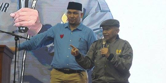 Syukuran dan Munajat Kemenangan Prabowo-Sandi. ©Liputan6.com/Herman Zakharia