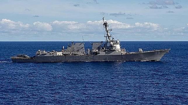 圖/翻攝自US Navy