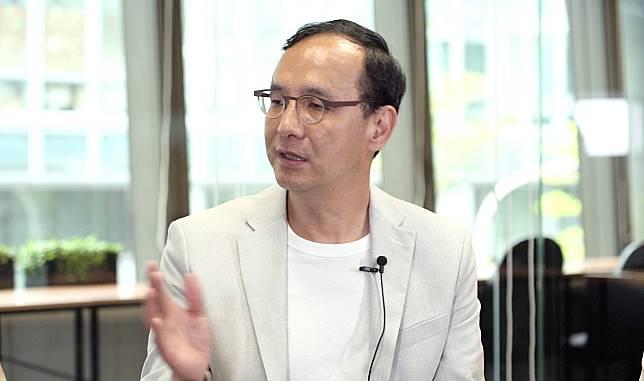 前新北市長朱立倫。( 圖 / NOWnews 影像中心 )