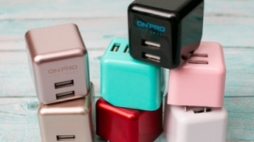 迷你超可攜,你的旅遊小夥伴 ONPRO UC-2P01 Plus USB 急速充電器