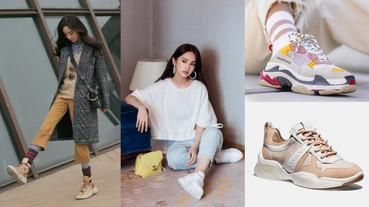 楊丞琳、Melody、楊冪都在SNS上曬這雙老爹鞋!「粉紅精品球鞋」推薦