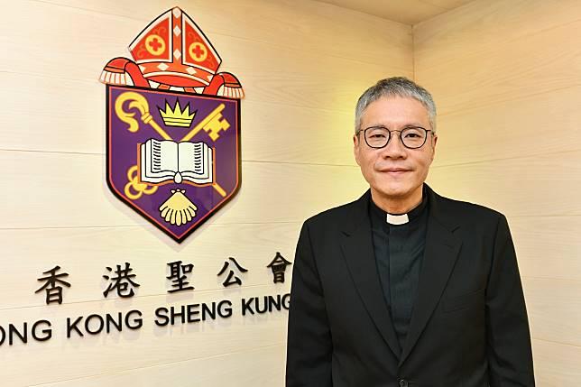 聖公會教省秘書長管浩鳴牧師。資料圖片