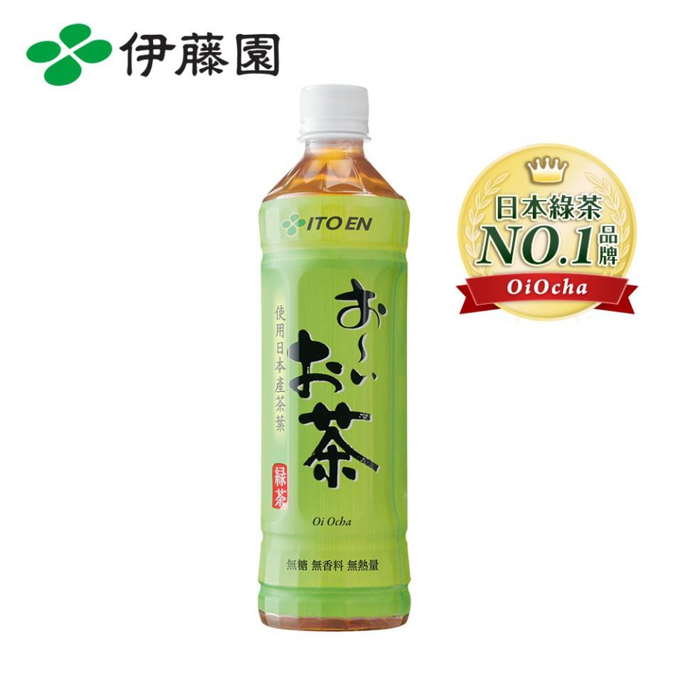 伊藤園 OiOcha 綠茶 PET530mL (24瓶/箱)  9481生活品牌館