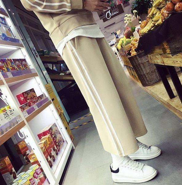 【JP.美日韓】韓國連身潮流套裝質感 寬褲 運動 上癮 街頭 穿搭 套裝 連身