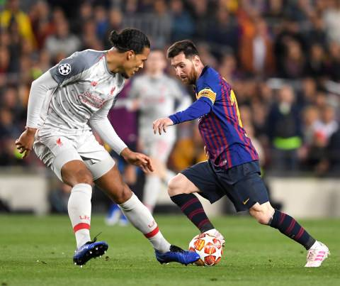 Kompletnya Virgil van Dijk di Mata Lionel Messi