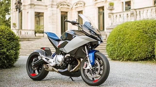 Sepeda motor konsep 9cento dari BMW Motorrad diperkenalkan di ajang Concorso d'Eleganza Villa d'Este, Italia pada 25 Mei lalu. [BMW Press Club]