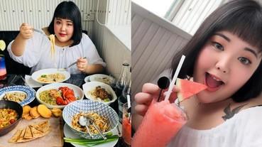 肉肉女的天下!韓國另類網美靠「吃」圈粉數十萬,網友:看她吃東西很療癒...