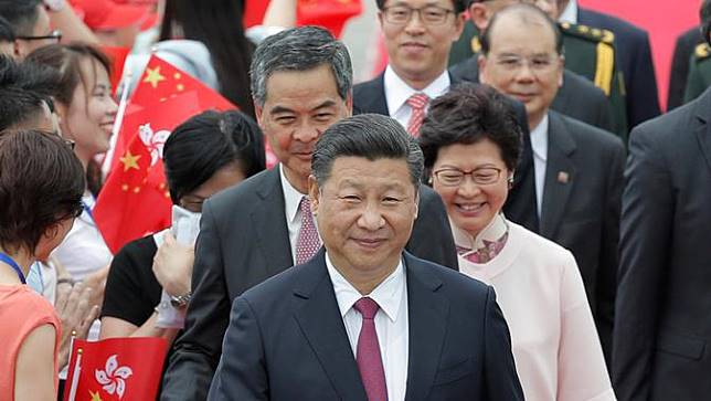 Presiden China Tiba di Hong Kong