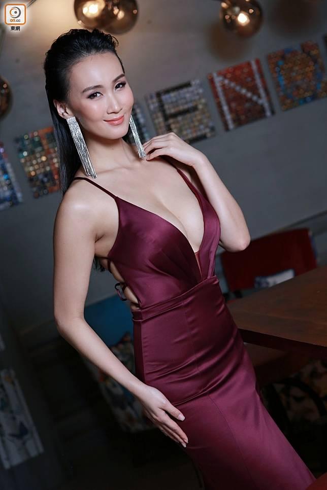 去年以香港代表出戰世界小姐競選。
