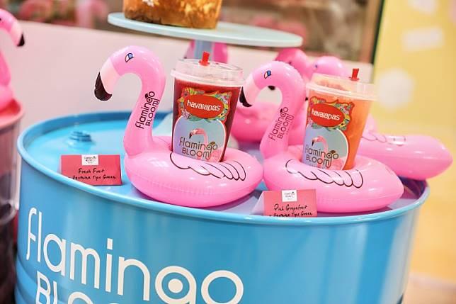Flamingo Bloom今次為期間限定店調製出限定特飲,清甜的檸檬洛神花茶及檸檬西瓜茉莉花茶,既可消暑解渴,夢幻的顏色令人忍不住打卡!(互聯網)