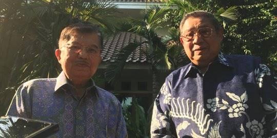 Wapres JK bertemu SBY di Cikeas. ©2019 Merdeka.com