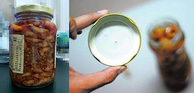 ▲不少網友為打開這種玻璃罐頭傷透腦筋。(圖/翻攝爆怨公社)